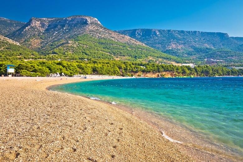 Das Goldene Horn auf der Insel Brac in Kroatien