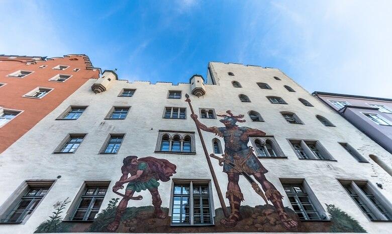 Goliath Haus in Regensburg