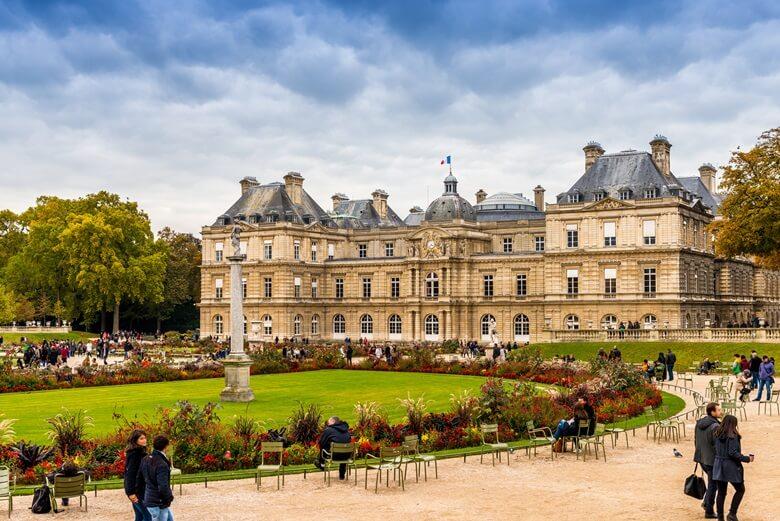 Jardin du Luxembourg in Paris