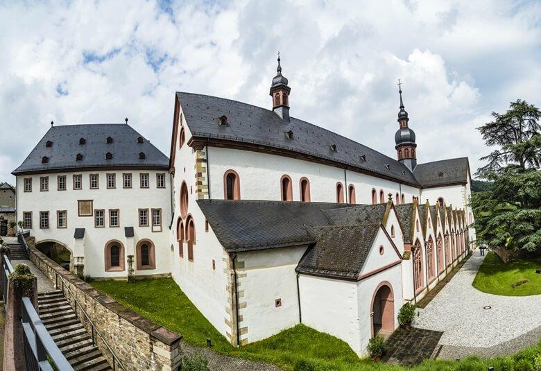 Kloster Eberbach in Rheingau in Deutschland