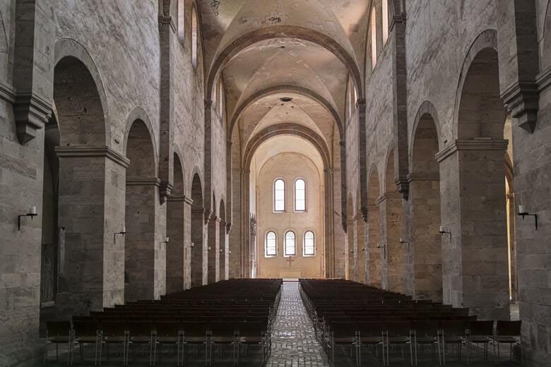 Basilika im Kloster Eberbach in Rheingau in Deutschland