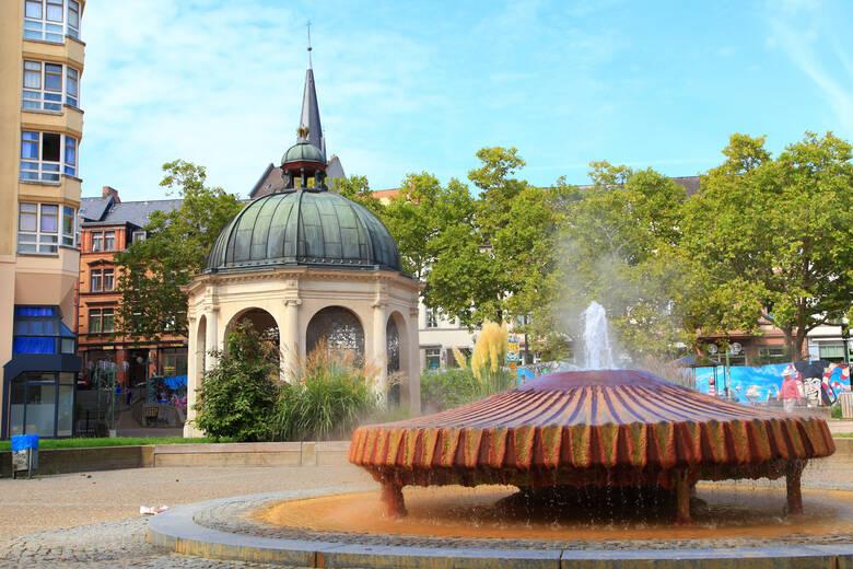 Kochbrunnenplatz in Wiesbaden