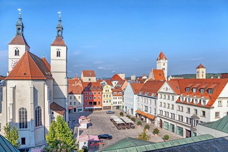 Neupfarrplatz in Regensburg