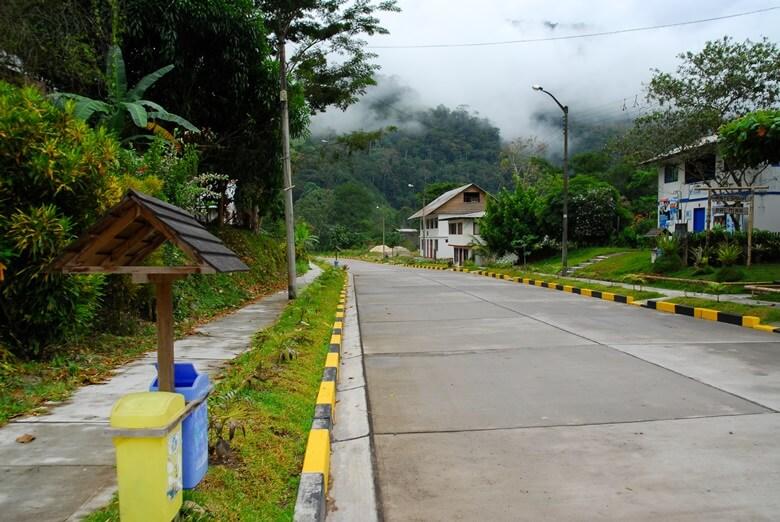 Straße in Pozuzo