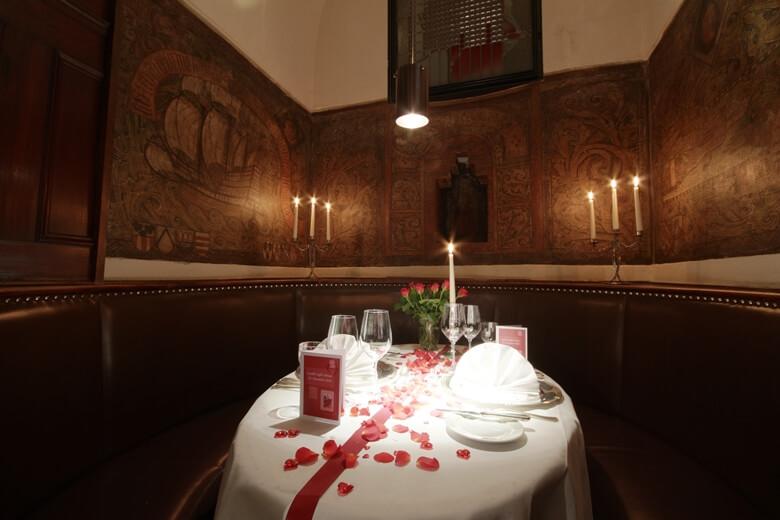 Romantik-Separee im Bremer Ratshauskeller