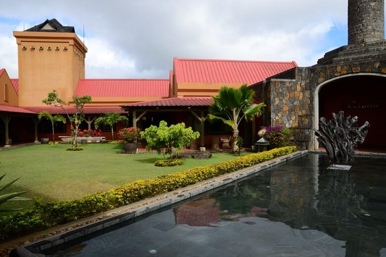 Rumfabrik von Chamarel auf Mauritius