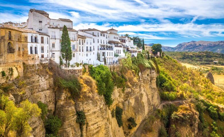 Das weiße Dorf Ronda in Südspanien