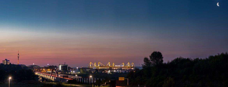 Dortmunder Skyline mit Signal-Iduna-Park