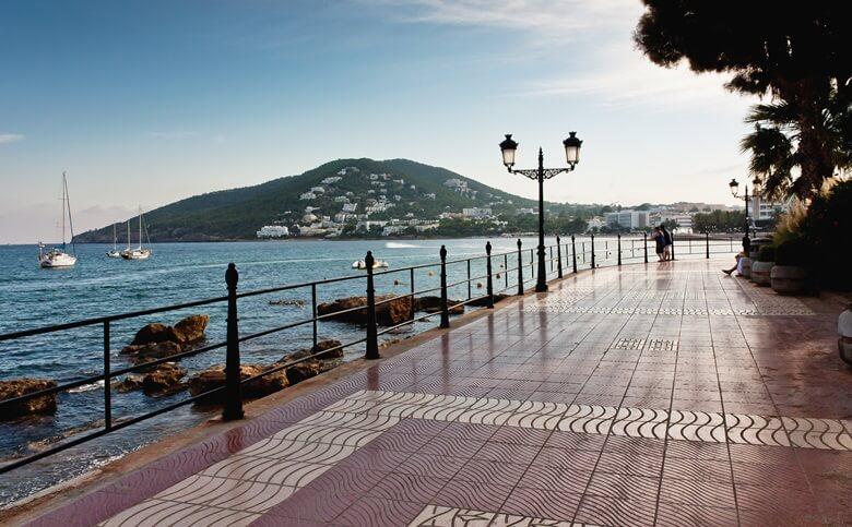 Santa Eulalia auf Ibiza