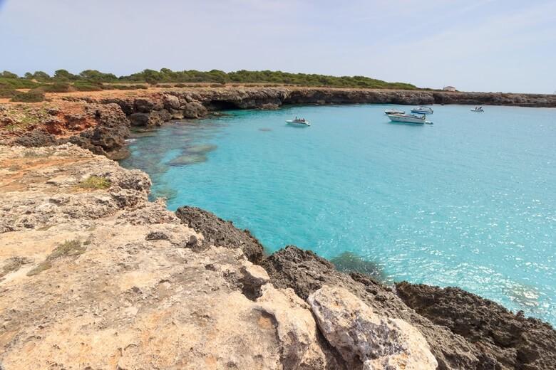 Cala en Bosc auf Menorca
