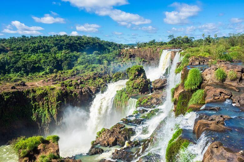 Iguazú-Wasserfälle in Argentinien