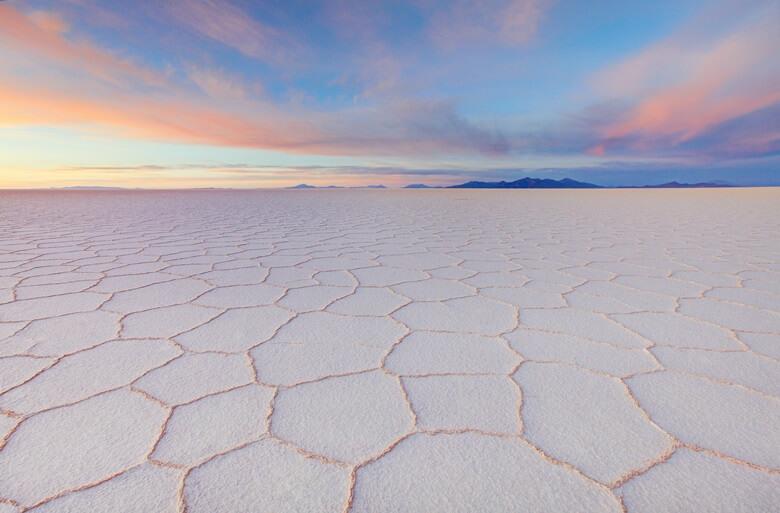 Beeindruckend: die Salar de Uyuni in Bolivien