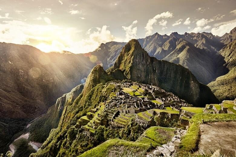 Die Inka-Stadt Machu Picchu