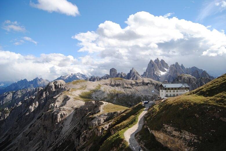 Wanderweg Drei Zinnen in Südtirol, Italien