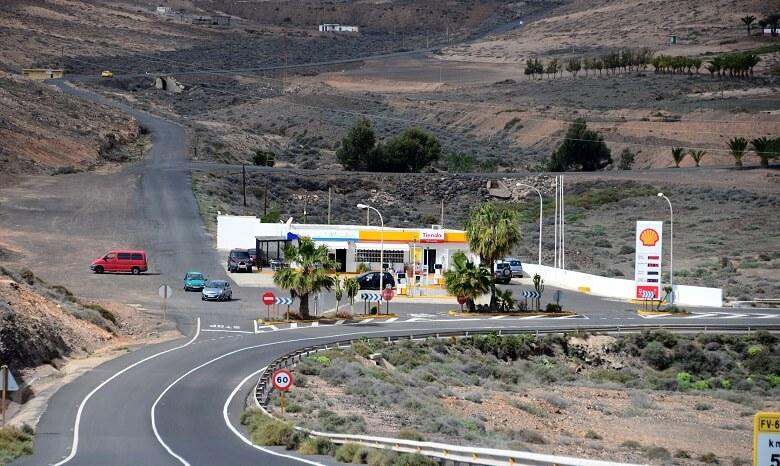 Tankstelle auf Fuerteventura