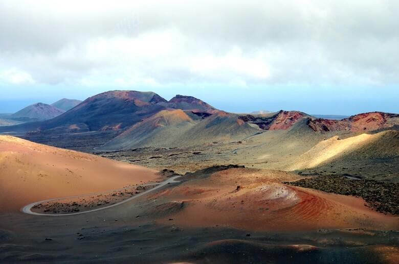 Blick über den Timanfaya Nationalpark auf Lanzarote