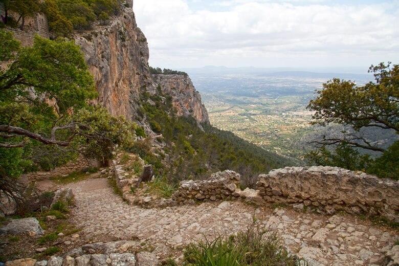 Tramuntana-Gebirge bei Alaro auf Mallorca