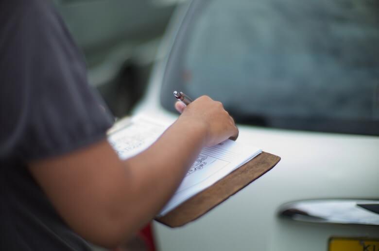 Checkliste im Mietwagenvertrag