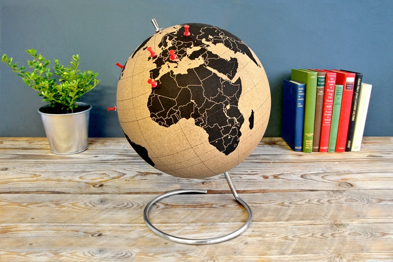 Kork-Globus von radbag