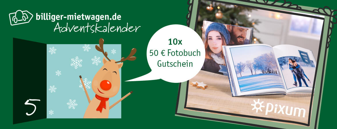 Adventskalender 2018 von billiger-mietwagen.de: 5. Türchen   Reisewelt