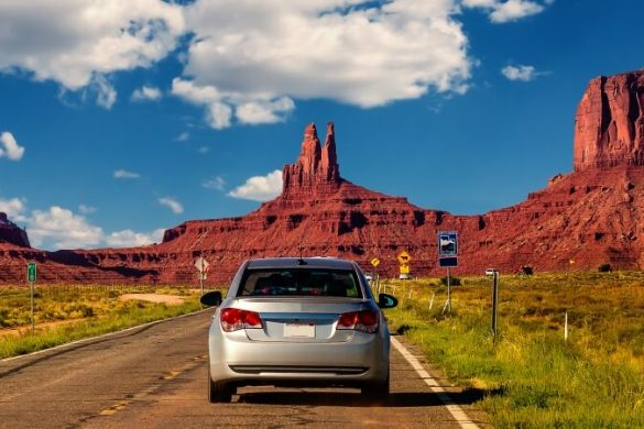 Roadtrip zu Monument Valley im Westen der USA