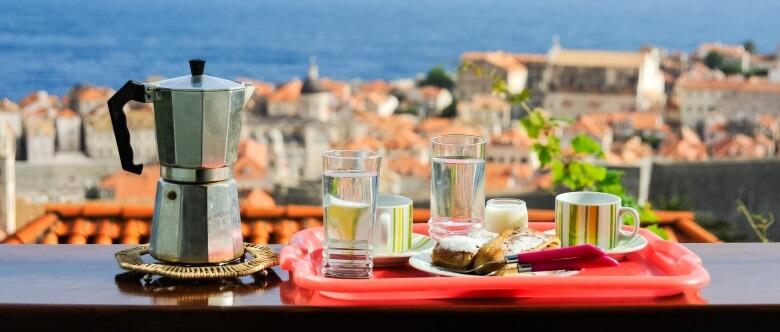 Trinken und Essen in Kroatien