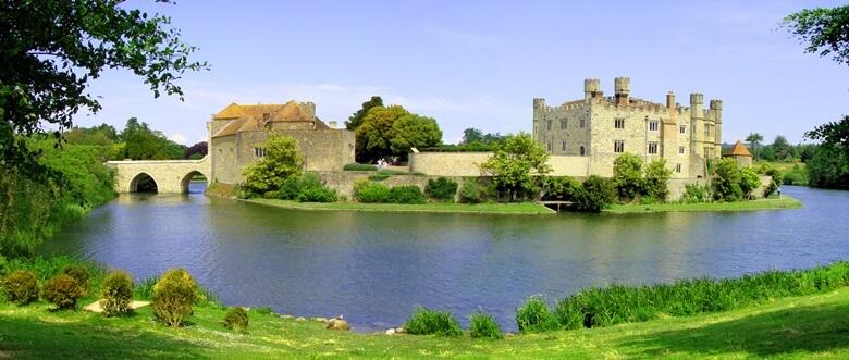 Leeds Castle im Süden von England