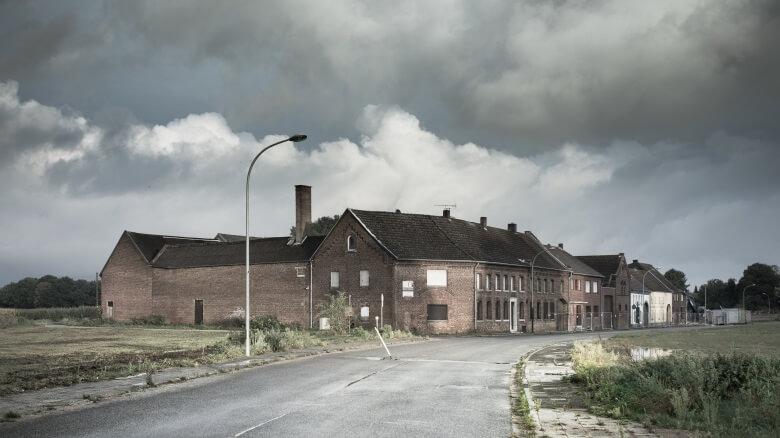 Das Dorf Immerath im Rheinland, einer der vielen Lost Places in NRW