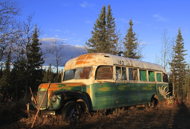 Magic Bus im Denali-Nationalpark in Alaska