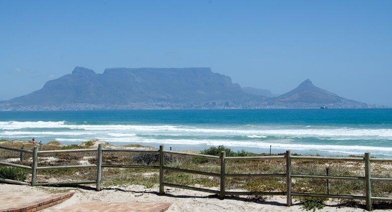 Bloubergstrand, ein Südafrika-Rundreise-Tipp