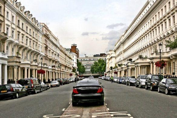 In London mit dem Auto fahren