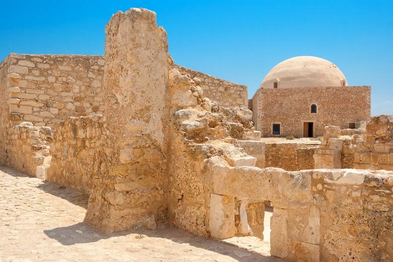 Moschee in der Festung von Rethymno auf Kreta