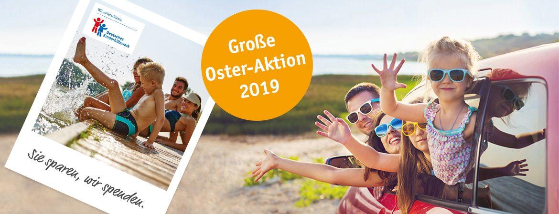 Große Oster-Aktion: Sie sparen, wir spenden (Aktion beendet)