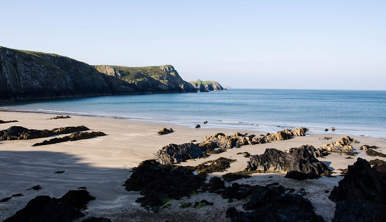 Strand in Wales