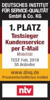 DISQ Testsieger