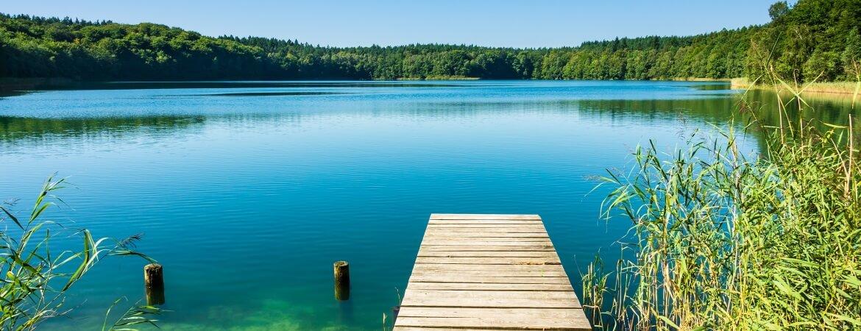 Steg an der Mecklenburger Seenplatte