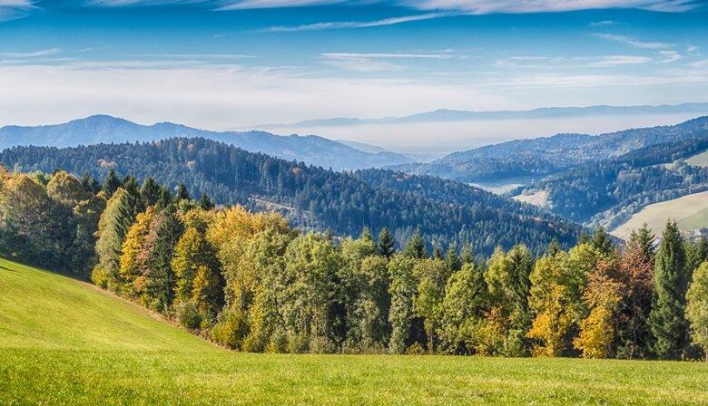 Der Schwarzwald in Baden-Württemberg
