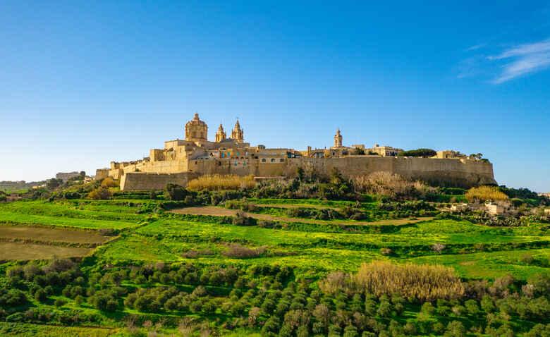 Altstadt von Mdina auf Malta