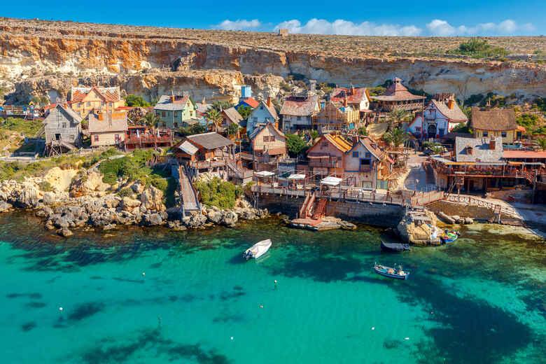 Drehort von Popeye | Popeye Village auf Malta
