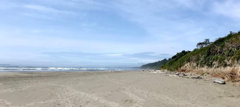 Strand im Nordwesten der USA