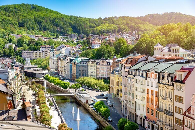 Kurstadt Karlsbad in Tschechien