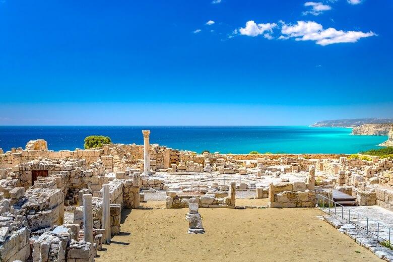 Archäologische Stätte bei Limassol auf Zypern