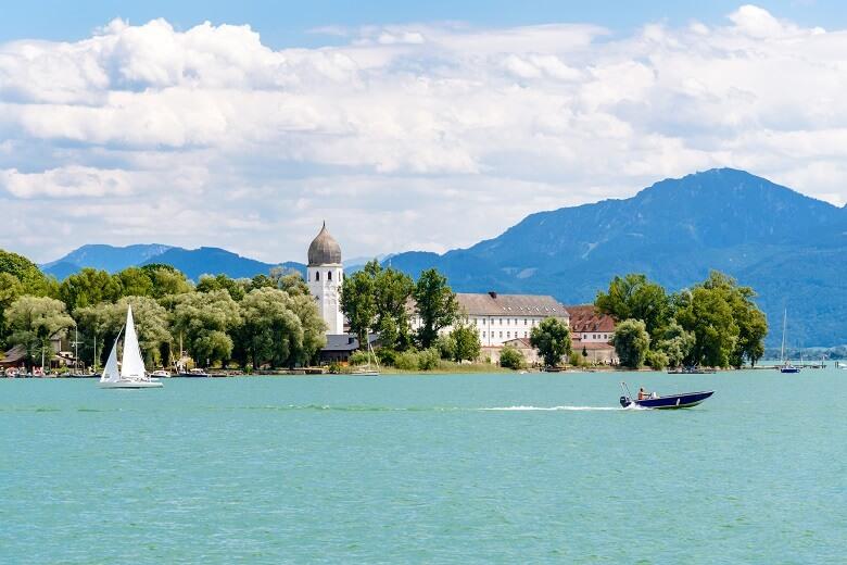 Herrenchiemsee in Bayern