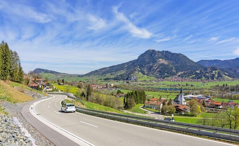 Roadtrip durch Bayern im Oberallgäu