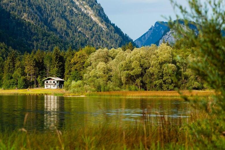 Weitsee in Oberbayern bei Reit im Winkl