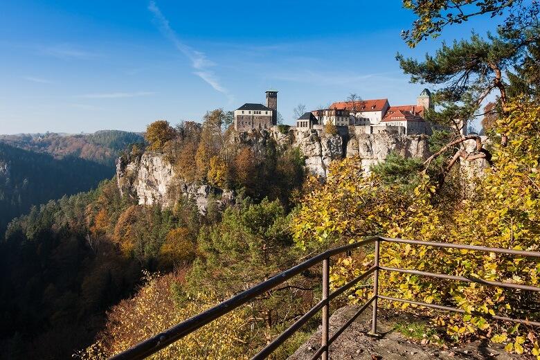 Burg Hohnstein in der Sächsischen Schweiz