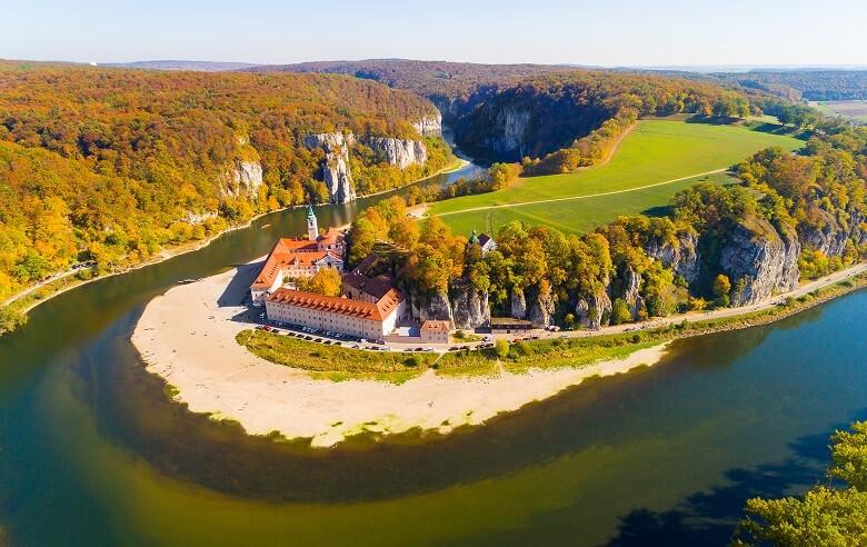 Donaudurchbruch in Bayern