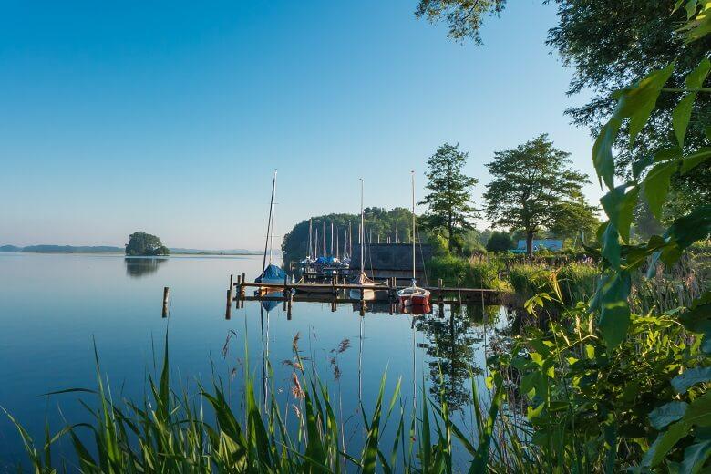 Boote am Plöner See