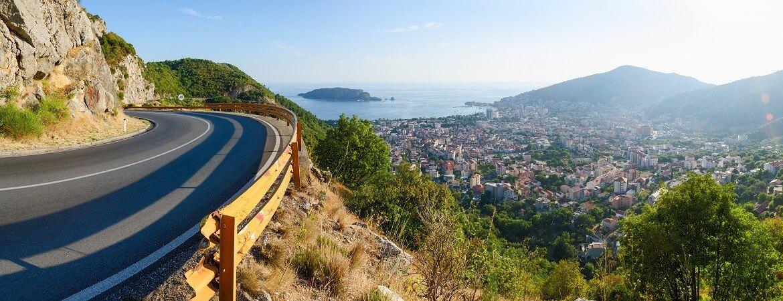 Küstenstraße in Montenegro