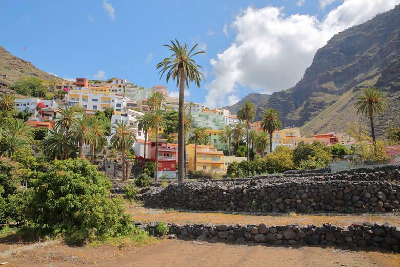 Valle Gran Rey, La Gomera Terrassen